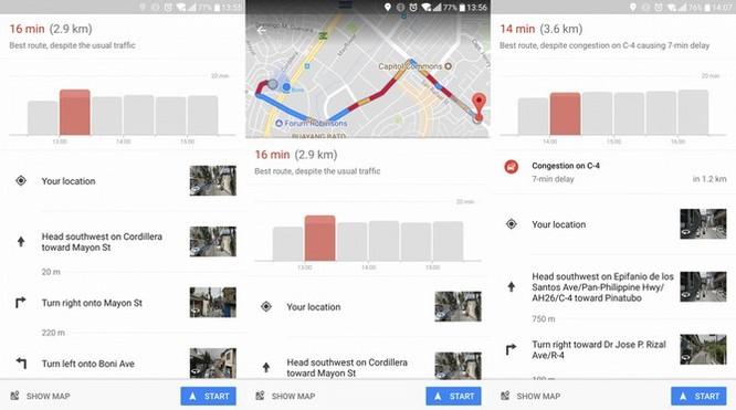 """Google Maps thêm tính năng gợi ý thời gian di chuyển """"đẹp nhất"""" ảnh 1"""