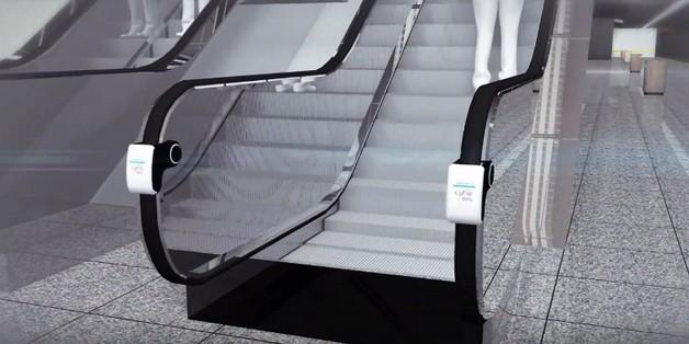 LG ra mắt thiết bị diệt khuẩn bằng tia cực tím trên lan can thang cuốn ảnh 1
