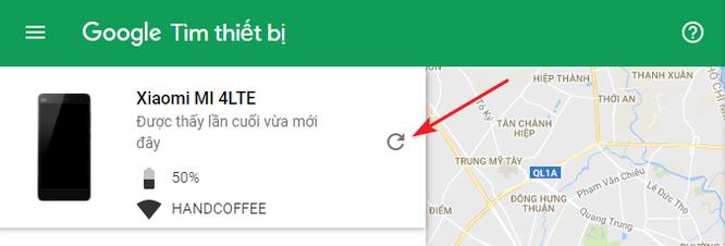 Cách tìm điện thoại Android bị thất lạc bằng máy tính ảnh 1