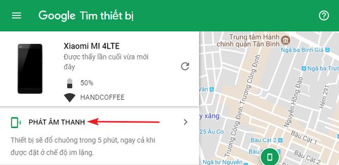 Cách tìm điện thoại Android bị thất lạc bằng máy tính ảnh 2