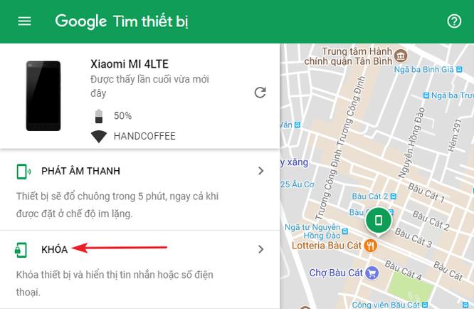 Cách tìm điện thoại Android bị thất lạc bằng máy tính ảnh 3
