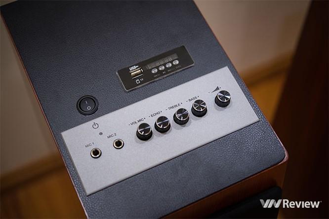 Đánh giá GoldSound W360: Loa cây, chuyên dụng cho karaoke gia đình ảnh 4