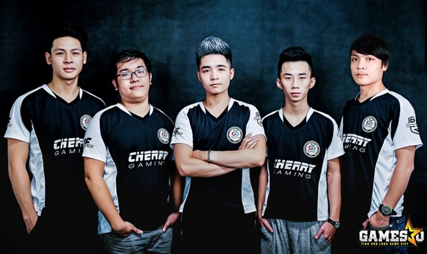 CherryStars, Á quân CFEL 2017 S2, cán đích ở hạng 5-10 chung cuộc tại CFGI 2017