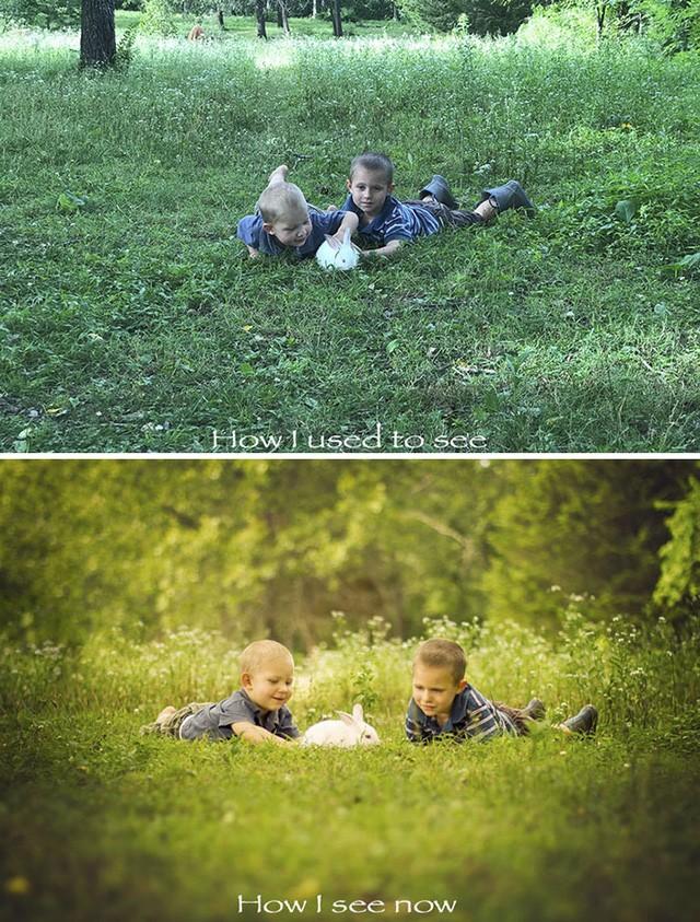 Góc chụp nghệ thuật kết hợp cùng hiệu ứng chỉnh sửa ảnh