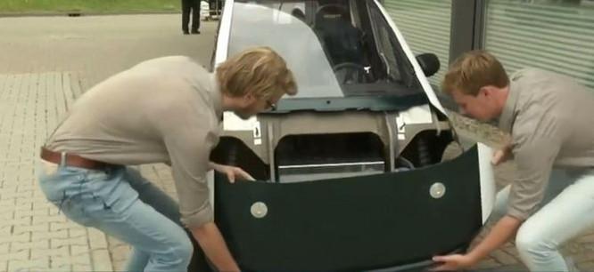 Sinh viên Hà Lan chế tạo xe ô tô điện có thể tự phân hủy sinh học ảnh 2
