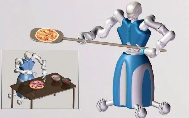 Robot có thể thực hiện được nhiều thao tác khó, đòi hỏi sự khéo léo và chính xác cao.