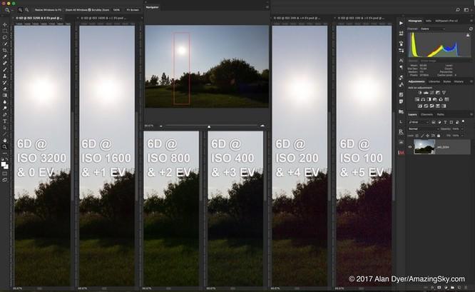 Lại thất vọng với chất lượng ISO trên Canon 6D Mark II ảnh 2