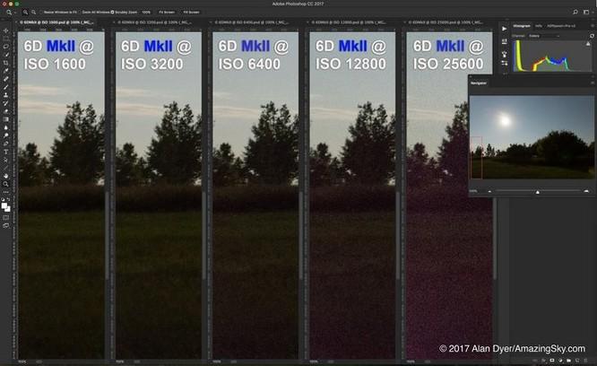 Lại thất vọng với chất lượng ISO trên Canon 6D Mark II ảnh 3