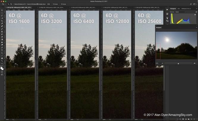 Lại thất vọng với chất lượng ISO trên Canon 6D Mark II ảnh 1