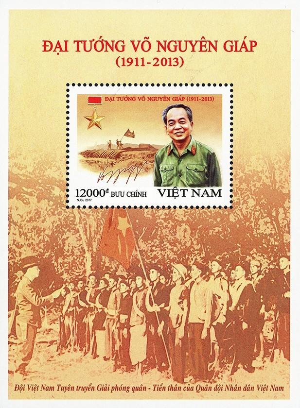 """Thủ tướng dự Lễ phát hành đặc biệt bộ tem """"Đại tướng Võ Nguyên Giáp (1911 – 2013)"""" ảnh 1"""