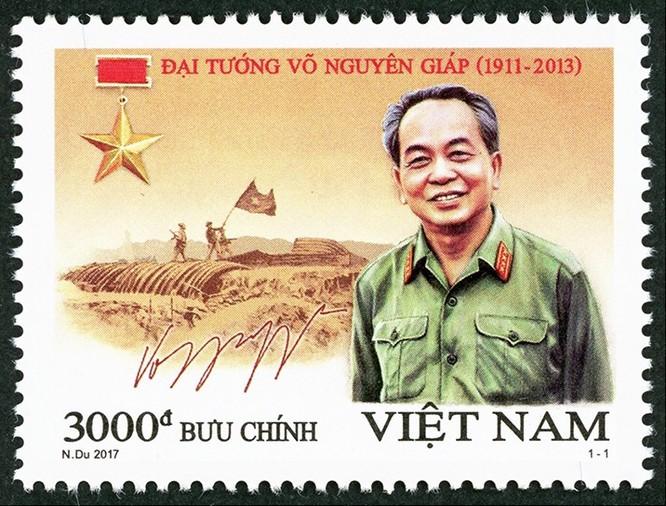"""Thủ tướng dự Lễ phát hành đặc biệt bộ tem """"Đại tướng Võ Nguyên Giáp (1911 – 2013)"""" ảnh 2"""