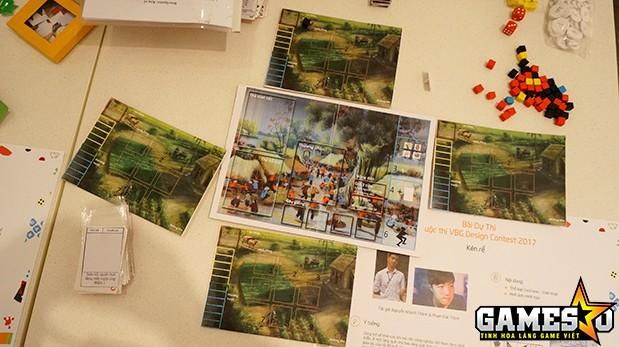 Cây đa, lũy tre làng hay giếng nước, sân đình,...là những hình ảnh quen thuộc mà bất cứ ai cũng có thể dễ dàng nhận ra trong nhiều board-game dự thi
