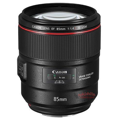 Lộ ảnh Canon 85mm f/1.4L IS và 3 ống kính macro tilt-shift mới ảnh 1