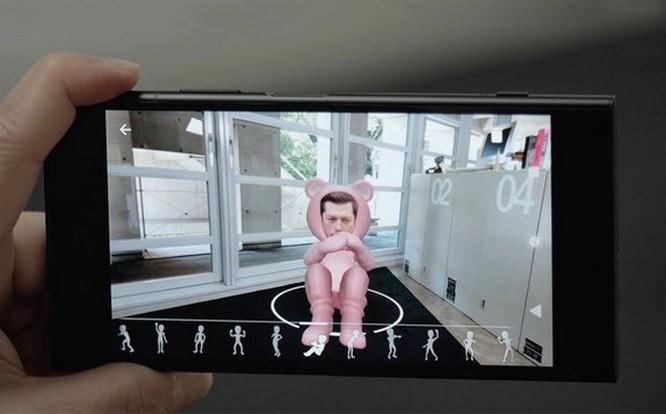 Tính năng 3D Creator trên Xperia XZ1 hoạt động thế nào? ảnh 3