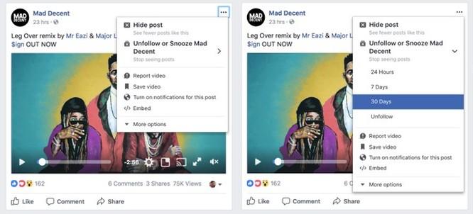 """Facebook sắp thêm tính năng cho phép tạm thời """"cạch mặt"""" bạn bè ảnh 2"""