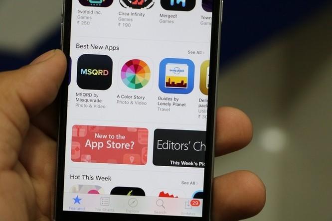 Apple tăng giới hạn tải ứng dụng qua mạng di động lên 150MB ảnh 1