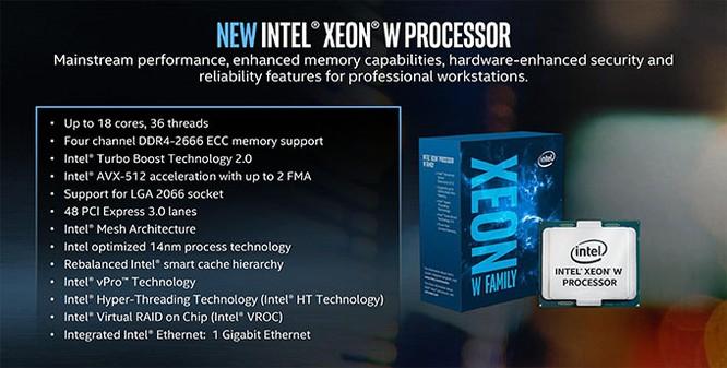 Những giải pháp phần cứng mới nhất của Intel cho máy trạm đồ họa ảnh 2