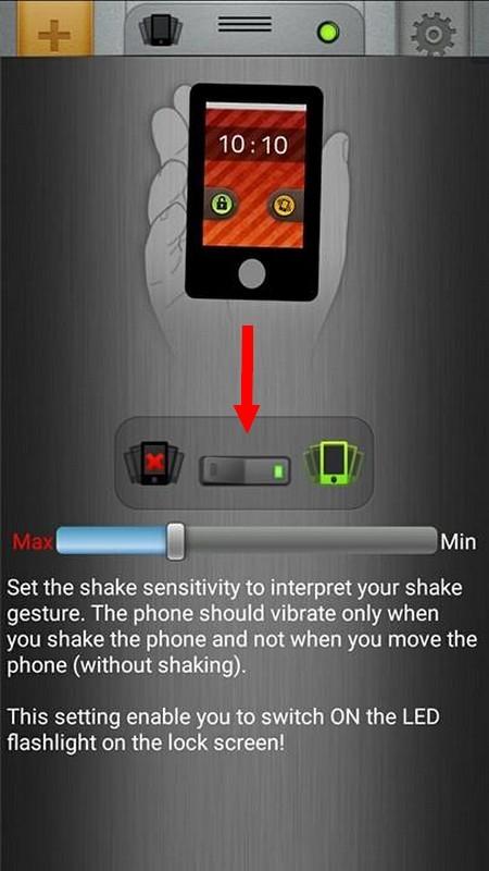 Tuyệt chiêu kích hoạt nhanh đèn flash trên smartphone bằng cách lắc thiết bị ảnh 2