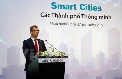 Xây dựng Thành phố thông minh hướng tới mục tiêu phát triển bền vững ảnh 1