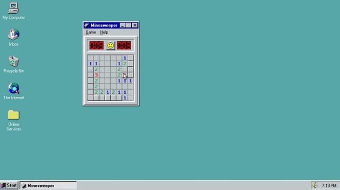 """22 năm Windows """"tiến hóa"""" gói gọn trong 90 giây ảnh 1"""