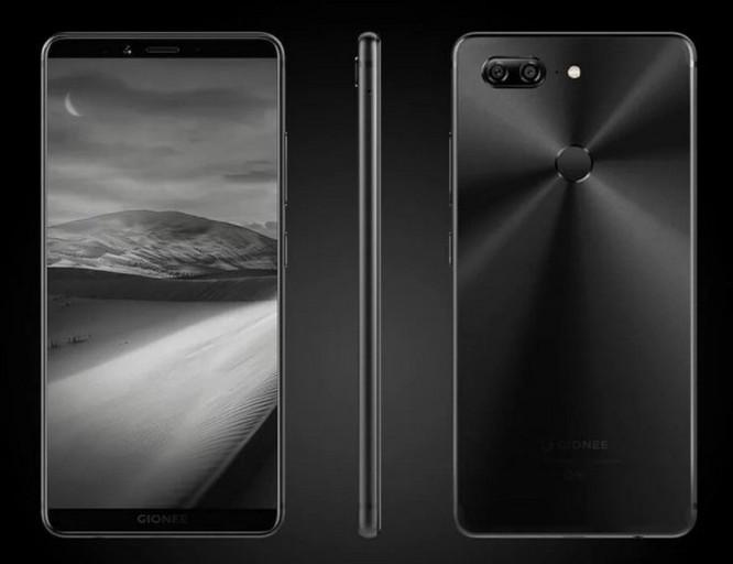 Gionee M7 ra mắt với camera kép, màn FullView, RAM 6GB ảnh 8