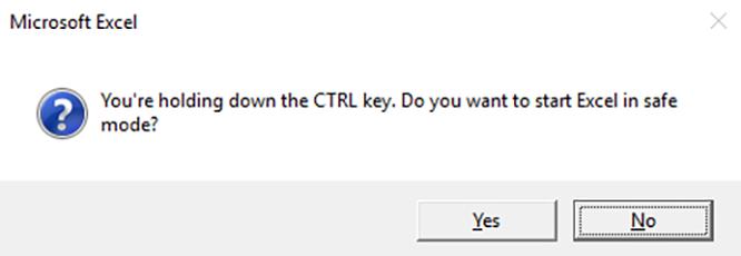 Tìm hiểu về chế độ Safe Mode trong Microsoft Office ảnh 1