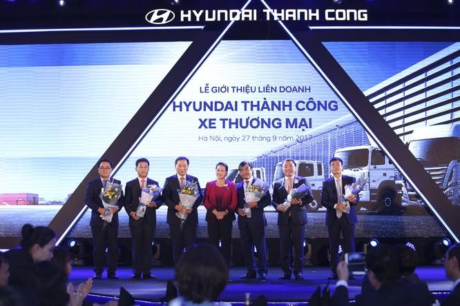 """Hyundai Motor """"bắt tay"""" với Thành Công, mỗi năm cho """"ra lò"""" 42.000 đầu xe các loại ảnh 1"""