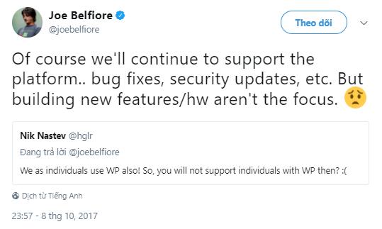 Microsoft lý giải nguyên nhân bỏ rơi Windows 10 Mobile ảnh 1