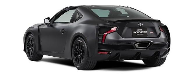 Ngắm concept Toyota GR HV Sports mạnh mẽ với thân hình đen bóng ảnh 2