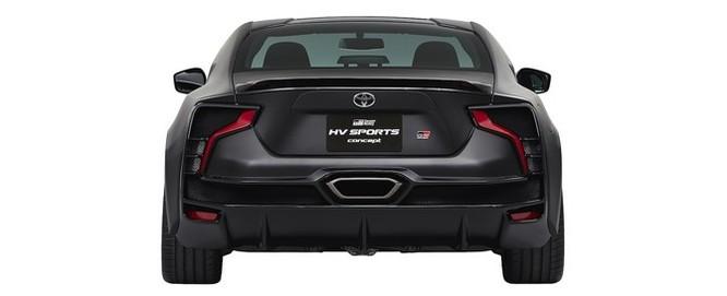 Ngắm concept Toyota GR HV Sports mạnh mẽ với thân hình đen bóng ảnh 3