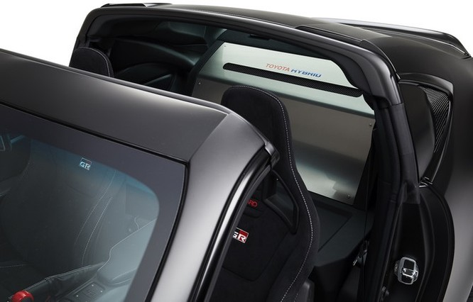 Ngắm concept Toyota GR HV Sports mạnh mẽ với thân hình đen bóng ảnh 7