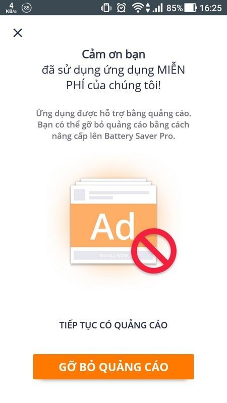 Ứng dụng giúp tối ưu và kéo dài thời lượng pin cho smartphone ảnh 1