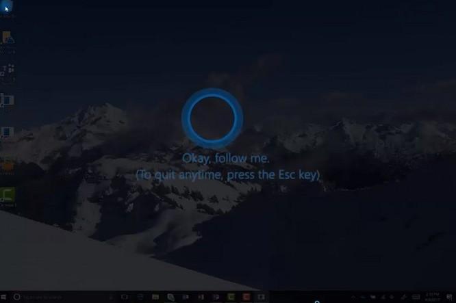 """Trợ lý ảo Cortana sẽ đóng vai trò """"bảo mẫu"""" chỉ dẫn người dùng ảnh 1"""