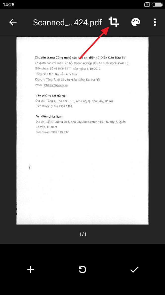 Cách tốt nhất để scan tài liệu bằng điện thoại, tablet ảnh 5