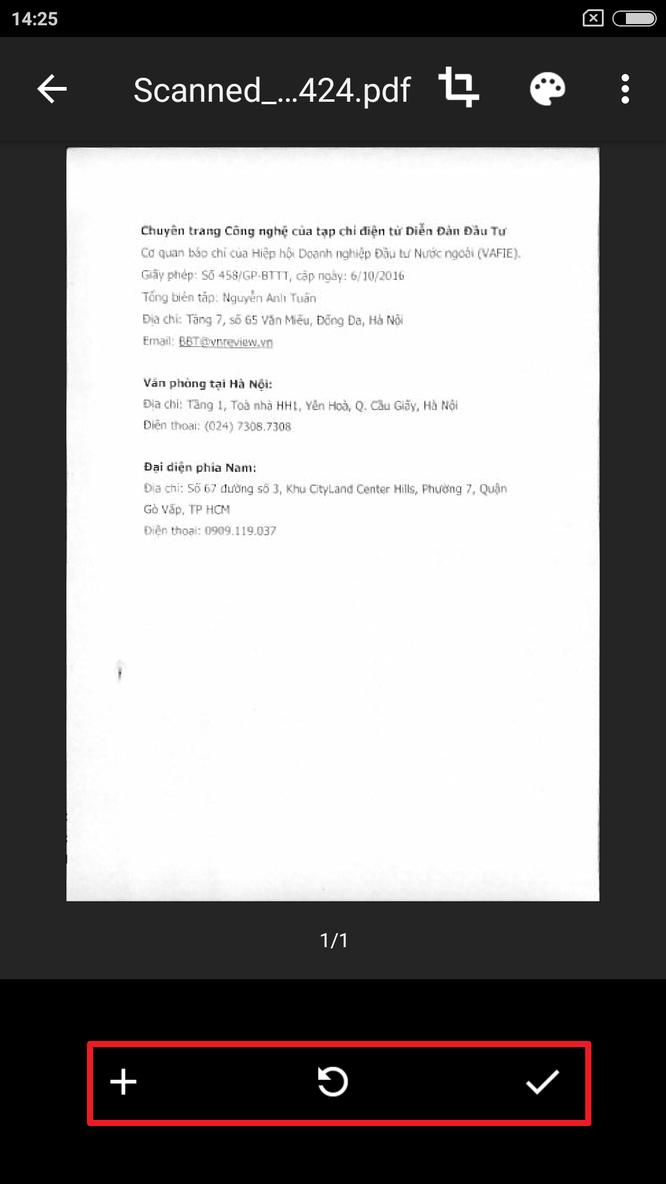 Cách tốt nhất để scan tài liệu bằng điện thoại, tablet ảnh 8