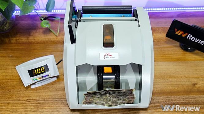 """Trên tay máy đếm tiền Silicon MC-9900N: 1.000 tờ/phút, """"bắt"""" được tiền siêu giả ảnh 14"""