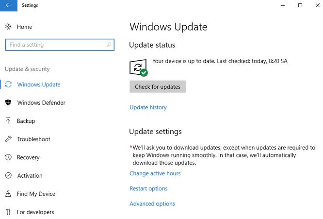 Hướng dẫn tải về Windows 10 Fall Creators Update ảnh 1