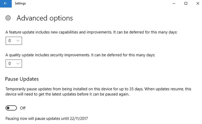 Hướng dẫn tải về Windows 10 Fall Creators Update ảnh 4