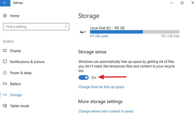 Tự động xóa file trong thư mục Downloads và Recycle Bin sau 30 ngày trên Windows 10 ảnh 1