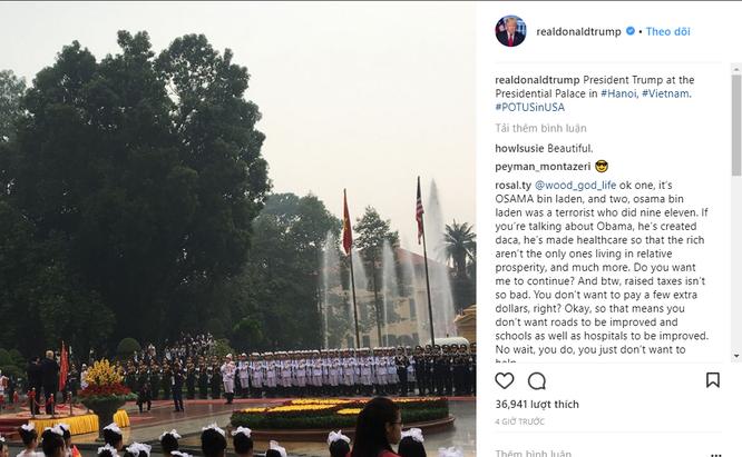 Hình ảnh Hà Nội tươi đẹp trên trang cá nhân của Tổng thống Mỹ Donald Trump ảnh 5