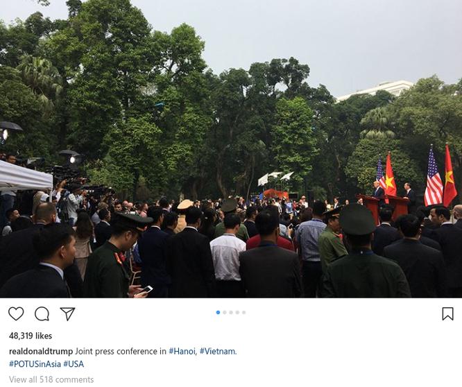 Hình ảnh Hà Nội tươi đẹp trên trang cá nhân của Tổng thống Mỹ Donald Trump ảnh 6