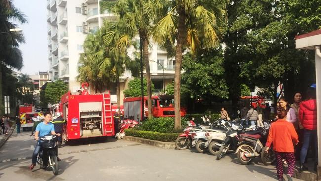 Hà Nội: Cháy lớn tại chung cư cao cấp Golden Westlake ảnh 1