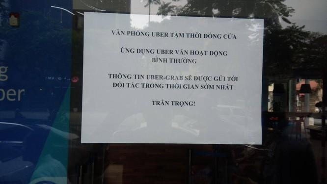 Văn phòng Uber Việt Nam tạm đóng cửa sau vài giờ Grab phát thông cáo sáp nhập ảnh 1