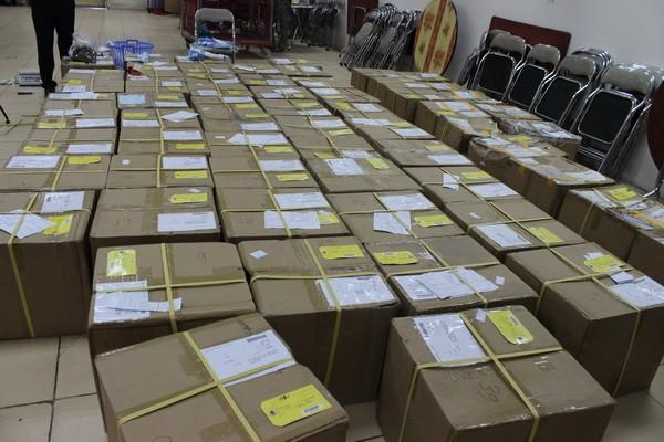 Cận cảnh 2,5 tấn lá thảo mộc chứa chất ma túy chuyển qua đường bưu chính quốc tế ảnh 3