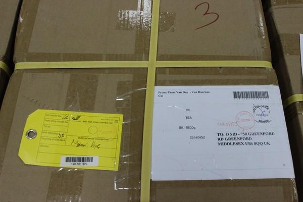 Cận cảnh 2,5 tấn lá thảo mộc chứa chất ma túy chuyển qua đường bưu chính quốc tế ảnh 6