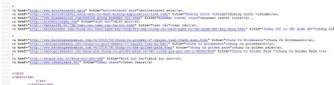 """NÓNG: 12/63 Cổng thông tin điện tử tỉnh, thành bị gắn """"link ẩn"""" ảnh 24"""