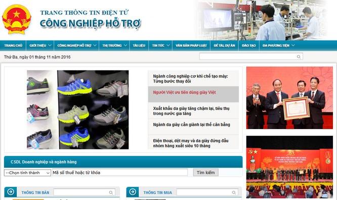 Bộ Công thương ra mắt website về công nghiệp hỗ trợ ảnh 1