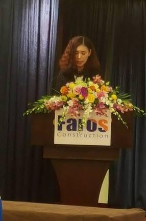 Tân thành viên HĐQT, đồng thời thành viên BKS Faros - bà Vũ Đặng Hải Yến