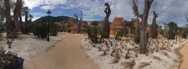 Hoang mạc Châu Phi hoang sơ và hung vĩ