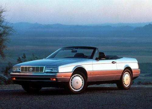 1987 Cadillac Allante là một trong những mẫu xe huyền thoại được Pininfarina thiết kế.